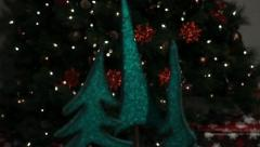 Christmas Tree Decorations 1 Stock Footage