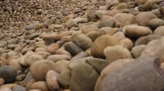 Cobble Stone Rocks Stock Footage