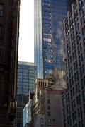 Mix of Architectural Styles in Midtown Manhattan - stock photo