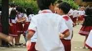 Stock Video Footage of Vietnamese Children at school 5