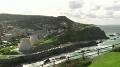 Ilfracombe Town and Coast Stock Footage