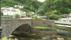 Lynmouth - stock footage