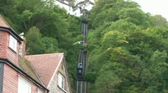 Cliff Railway Stock Footage