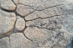 natural stone sunburst - stock photo