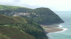 Lynmouth & Lynton Stock Footage