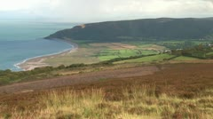 Exmoor Coastline Stock Footage