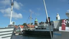 Norway Stavanger tower zoom in s Stock Footage