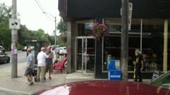 2012-06-24 1349 Queen Street West - stock footage