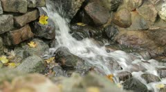 Cascade in the city park. Stock Footage