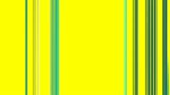 Vertical Green Lines on Yellow Stock Footage