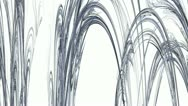 Grey Abstract Stalactites Moving Stock Footage