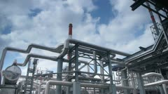 Stock Video Footage Oil Plant Refinery Stock Footage
