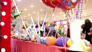 Shoppers in a toy shop. Stock Footage