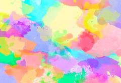 abstract water color painting background - stock photo