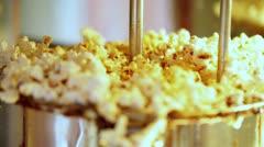 Popcorn making. Stock Footage