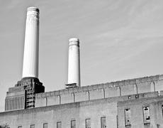 Stock Photo of battersea powerstation london
