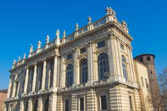 Stock Photo of palazzo madama, turin