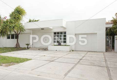 Stock photo of Modern single family home