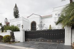 Luxurious mansion - stock photo
