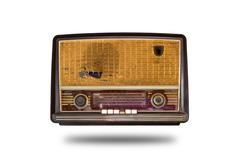 Old vintage radion isolated Stock Photos
