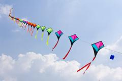 colorful of kite - stock photo