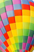 Stock Photo of color pattern of hot air balloon