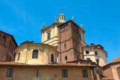 sant eustorgio church, milan - stock photo