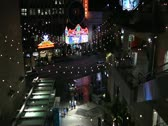 El Capitan theater in Hollywood time lapsed from Kodak mall Stock Footage