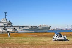 Uss Yorktown lentotukialus Charleston, South Carolina, USA Kuvituskuvat