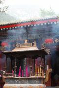 Taoist temple, xian, china Stock Photos