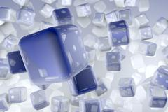 The Cubes - stock illustration