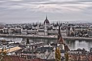 Stock Photo of Budapest Cityscape