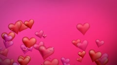 Valentine's Day Hearts - stock after effects