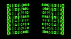 Stock Video Footage of nixie45nixie tube clock numerical counter