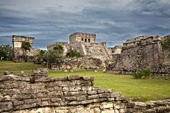 Mayan ruins in tulum, mexico Stock Photos