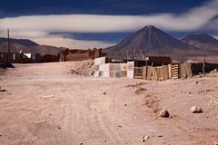 Buildings in san pedro de atacama, chile Stock Photos