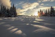 Stock Photo of Shadows of a snow dragon