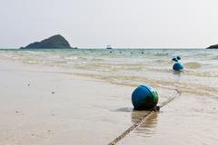 Blue buoy Stock Photos