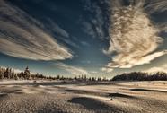 Stock Photo of Alaskan winter