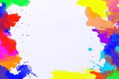 Abstract water color for background Stock Photos