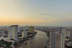Stock Photo of bangkok city scape