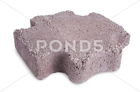 Stock photo of paving stone