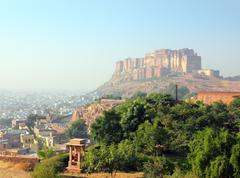 fort in jodhpur - stock photo