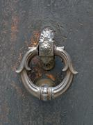 Historic door knocker Stock Photos