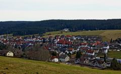 Village schonach in germany Stock Photos