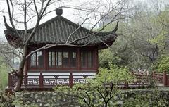 Stock Photo of chinese building in wuhan