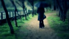 rainwoman - stock footage
