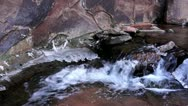Stock Video Footage of Small Waterfall In Negro Bill Canyon
