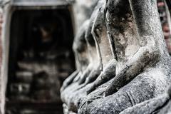 Chaiwattanaram temple in ayutthaya historical park , thailand Stock Photos
