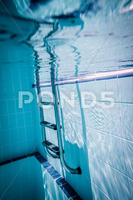 Stock photo of ladder pool